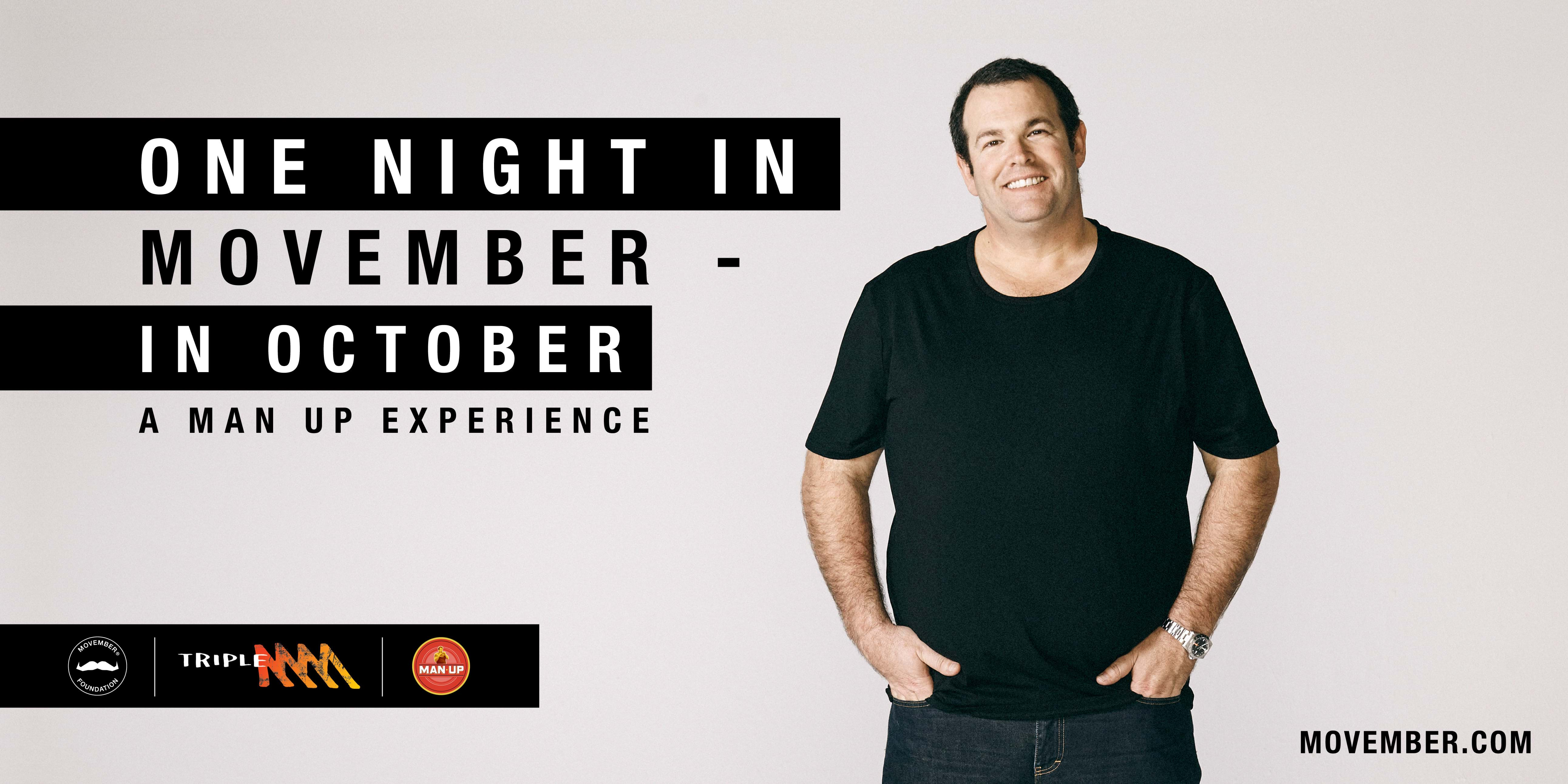 Article heading image for Triple M Presents One Night In Movember (In October)