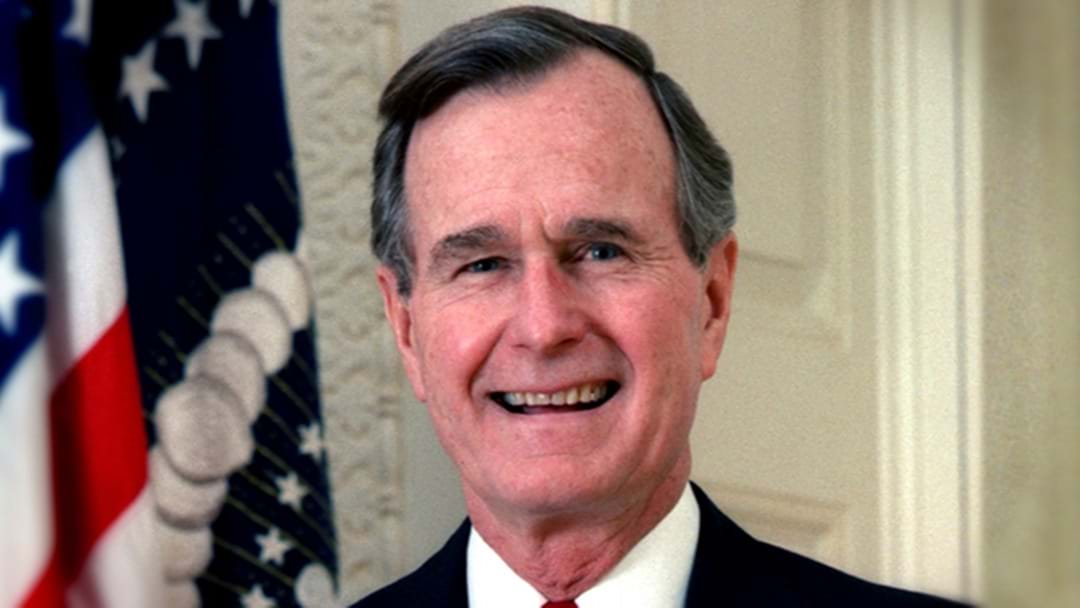 George Bush Snr Apologises For Touching Actress Inappropriately