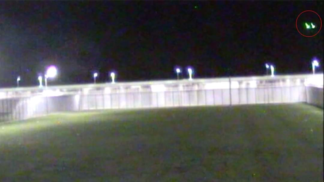 Footage Shows Drone Dropping Contraband Into NSW Prison