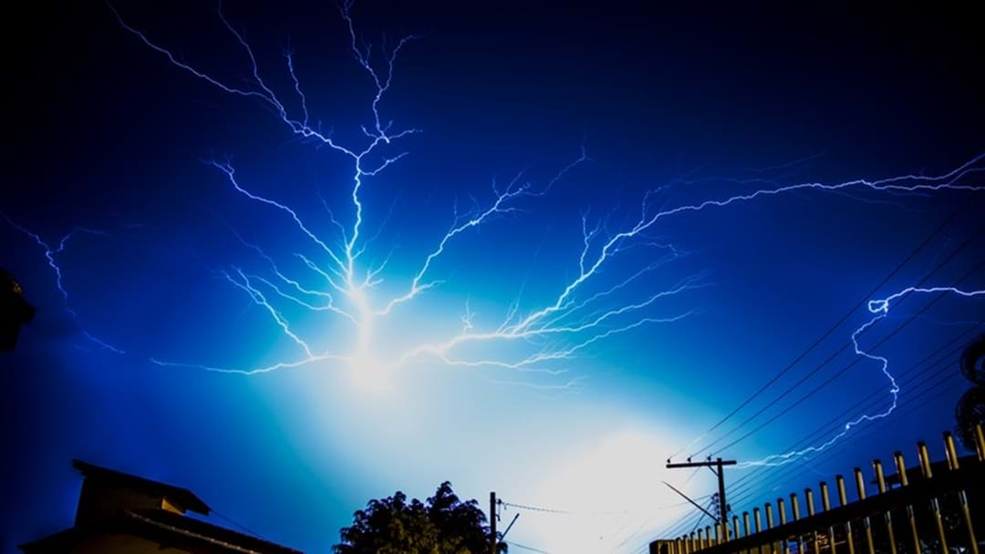 Luke Bradnam's tips on staying safe leading up to and during a thunderstorm