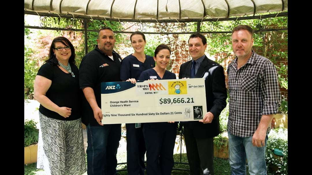 Record Breaking Year for Triple M's Give Me 5 For Kids