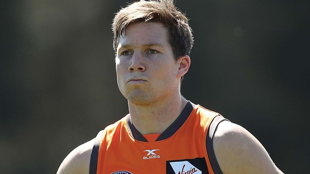 Bizarre Injury Forces Toby Greene Out Of International Rules