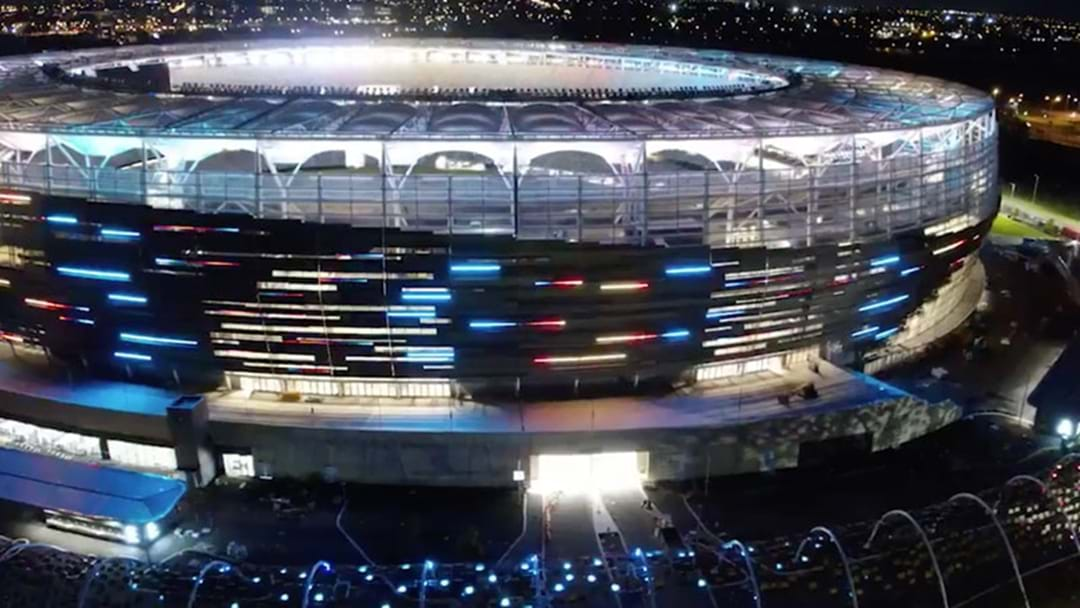 Perth Stadium's Newest Video About Their Lights Just Blew Our Tiny Minds