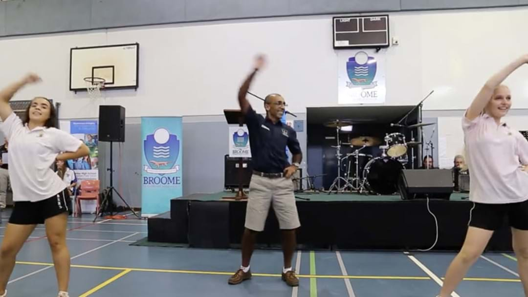 The WA Principal's Got Some SERIOUS Moves!