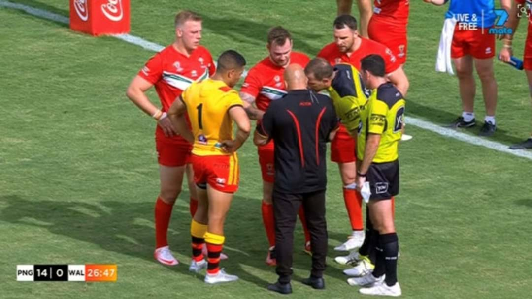 Wales Prop Makes Biting Allegation Against A PNG Player