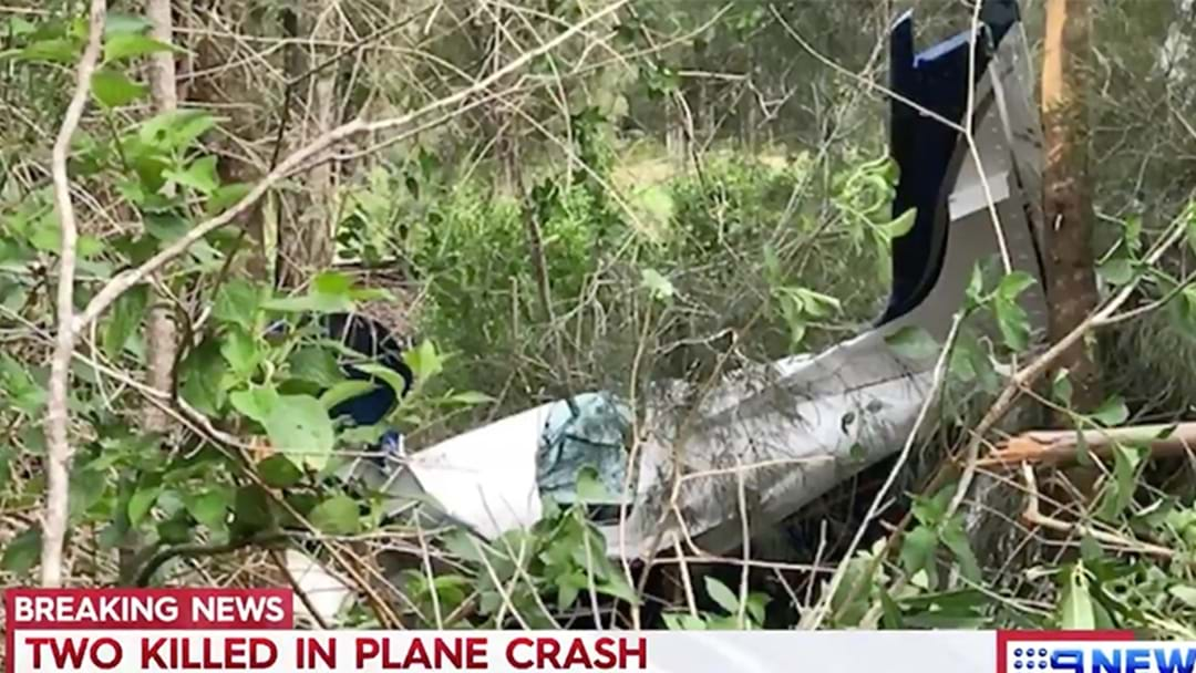 Two Dead In NSW Plane Crash