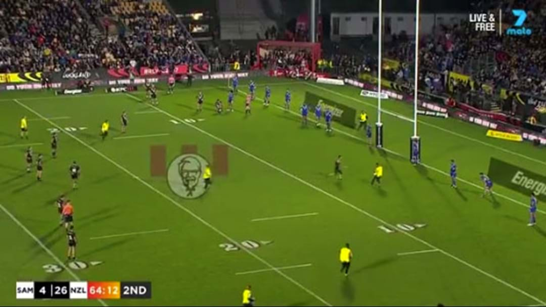 Streakers Create Chaos At The Rugby League World Cup