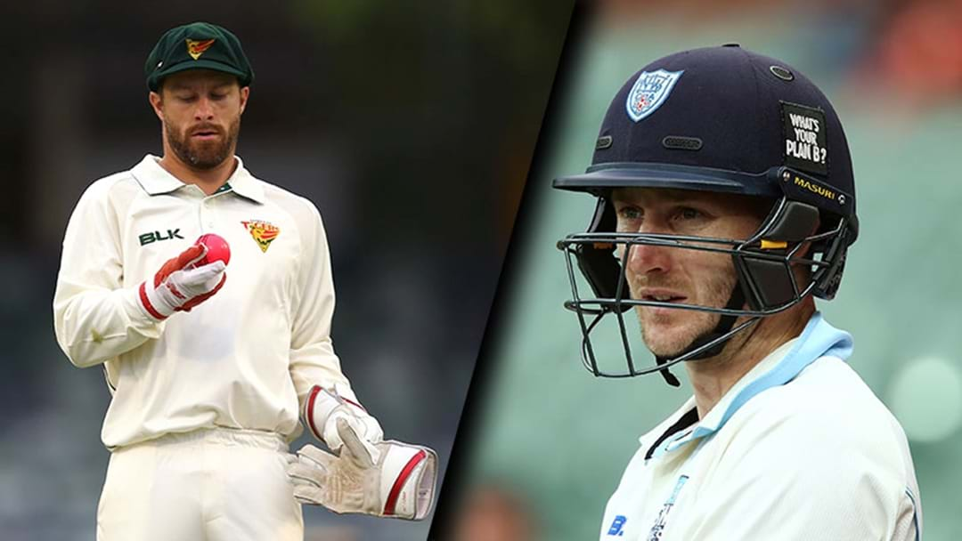 Matthew Wade And Peter Nevill Both Failed In The Sheffield Shield Again Today