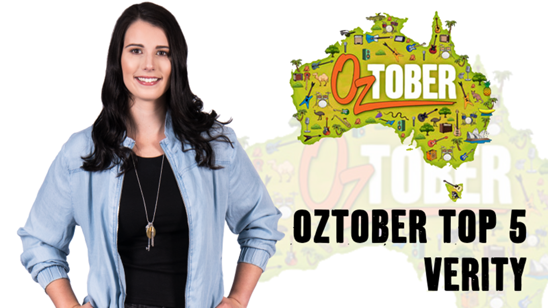 As we mark the end of Oztober: Verity's Top 5 Aussie Tracks