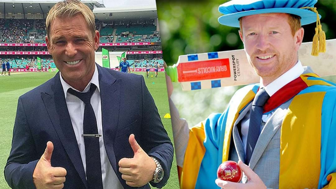 Warnie Destroys Former Ashes Foe In One Instagram Comment