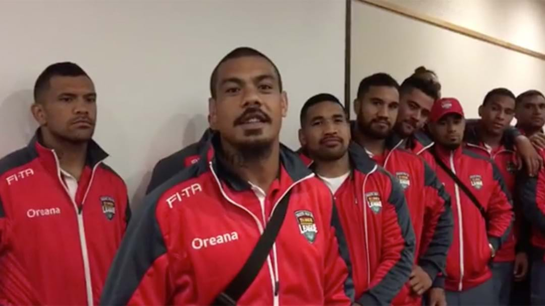 Tongan Team Plea For Peace As Pacific Rivalry Intensifies