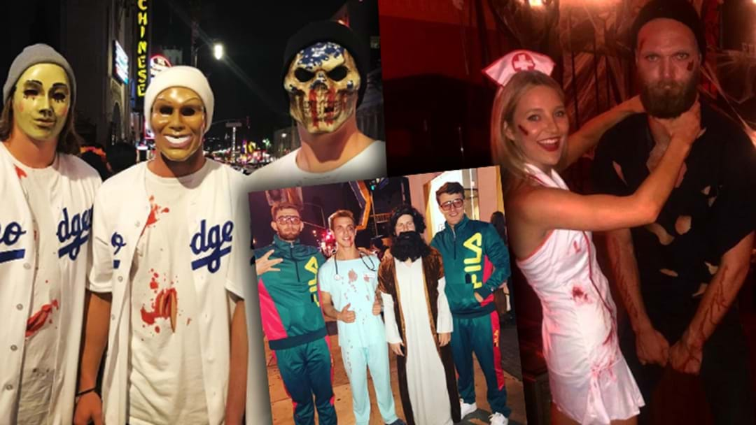 The Best Halloween Costumes From AFL Players