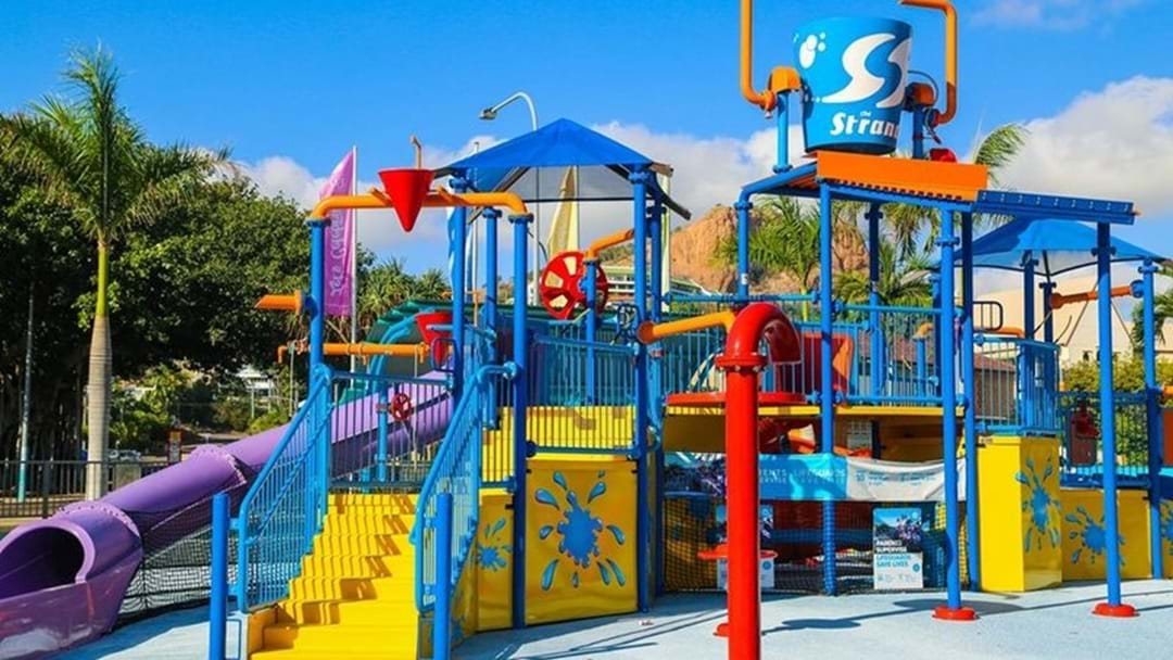Strand Water Park Renos Are Finito