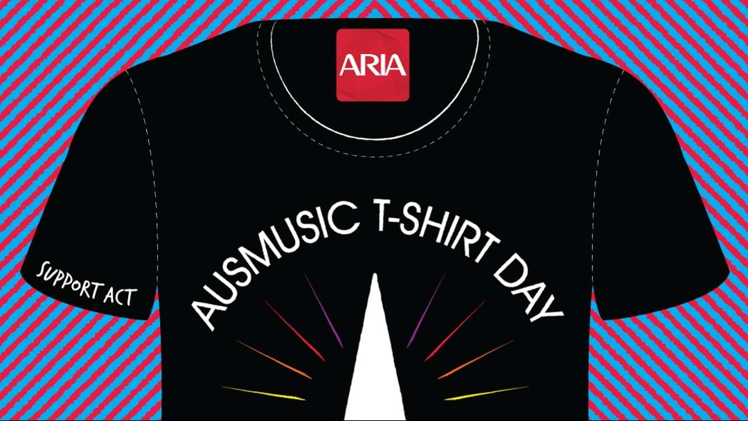 Wear Your Band On Your Chest For Aus Music T-Shirt Day