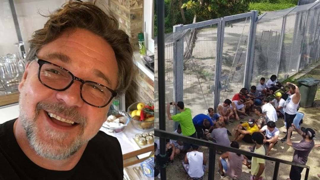 Russell Crowe Blasts Manus Island Detention Centre As 'A Nation's Shame'