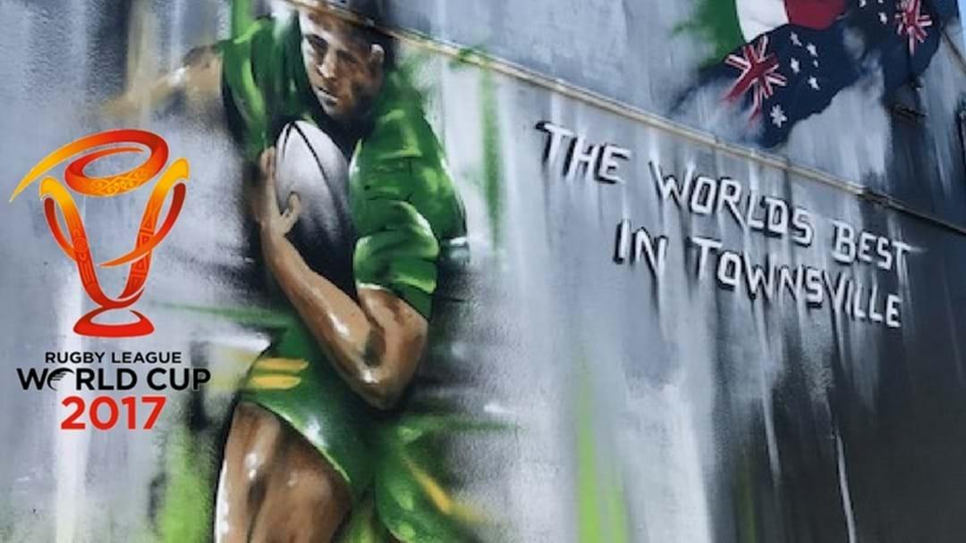 Townsville Footy Fans Meet World's Best