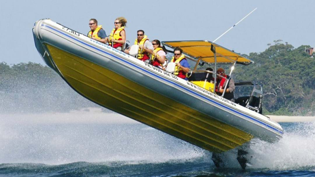 Nelson Bay Speed Boat Operator Fined Over Incident