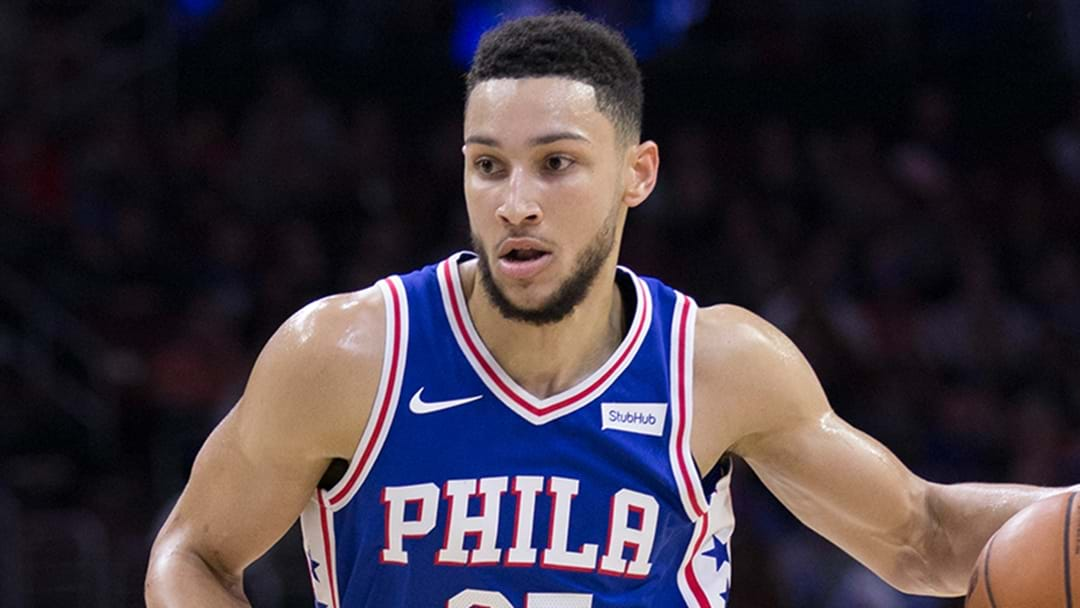 Simmons Stars Again For 76ers