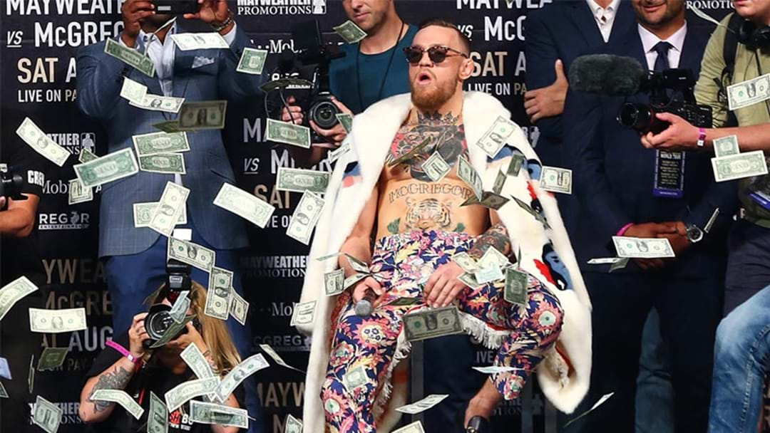Conor McGregor Charged With Assault By NYPD