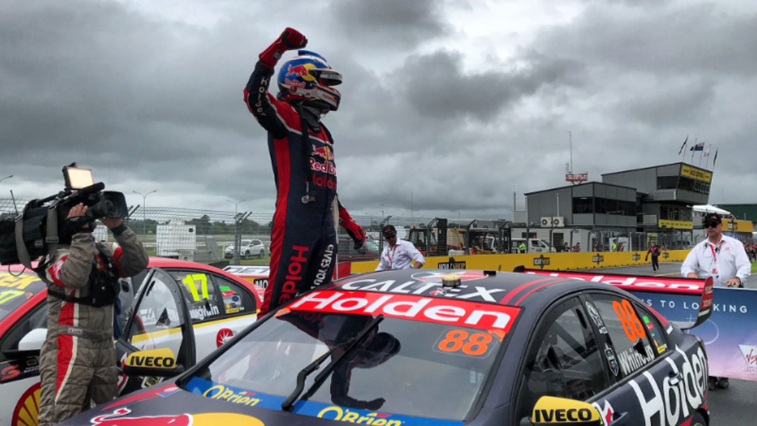 Jamie Whincup Wins In Auckland