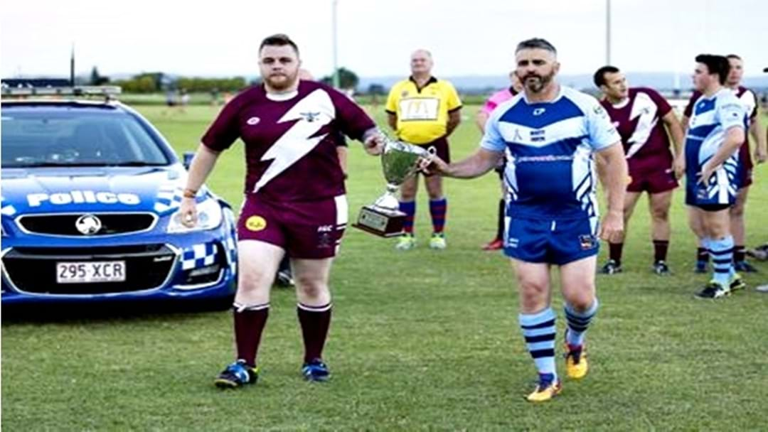 Footy Match in Honour of Fallen Police Officer