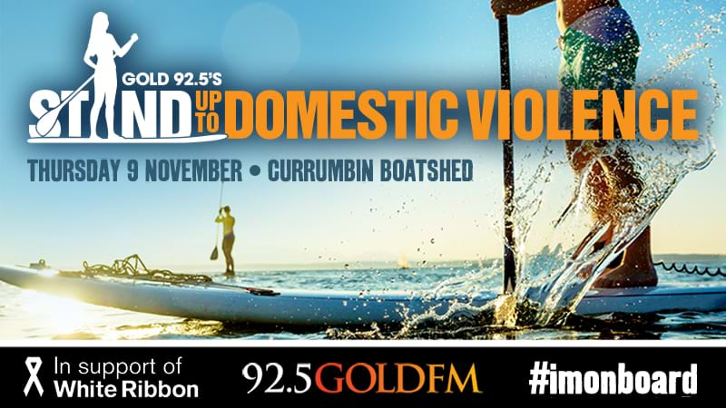 Article heading image for Gold 92.5's Stand Up To Domestic Violence