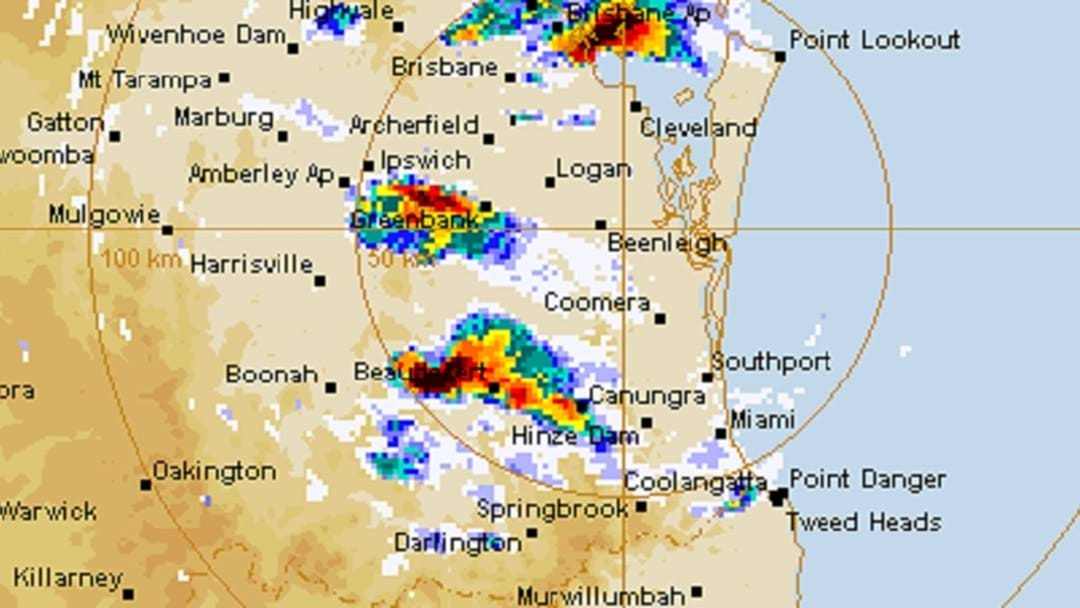 STORMS: Thunder and lightning on the way