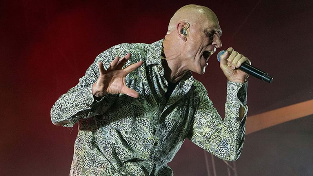 Peter Garrett Had A Crack At Paul Keating At The Oils' Sydney Gig