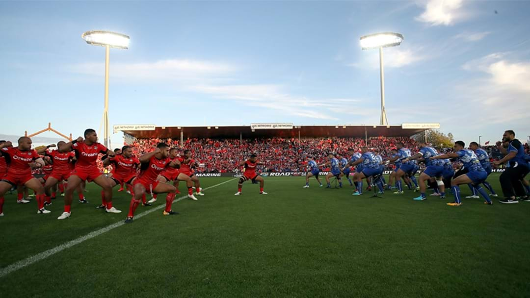 The Grill Team Discuss The Incredible Scenes Before The Tonga v Samoa World Cup Game