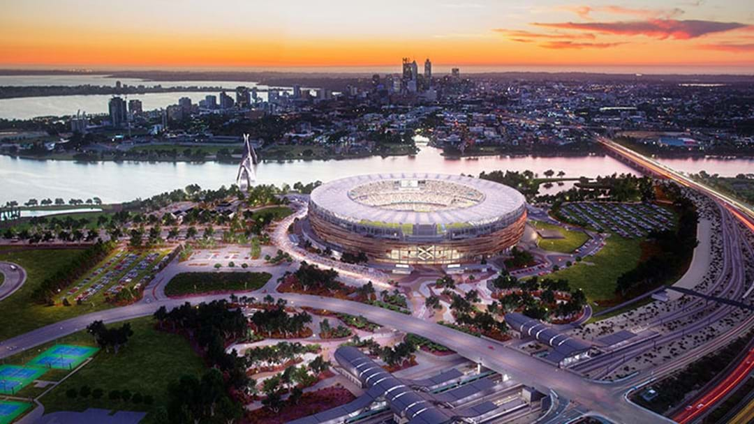The First Public Sporting Event At The New Perth Stadium Will Be Cricket