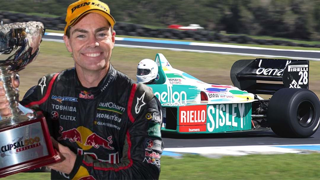 Craig Lowndes To Drive Oldschool F1 Car Through The Streets Of Adelaide