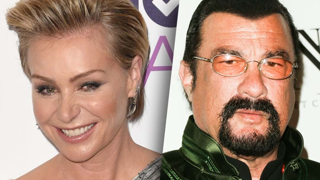 Portia de Rossi's Extraordinary Tweet About Steven Seagal