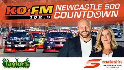 KOFM's Newcastle 500 Countdown