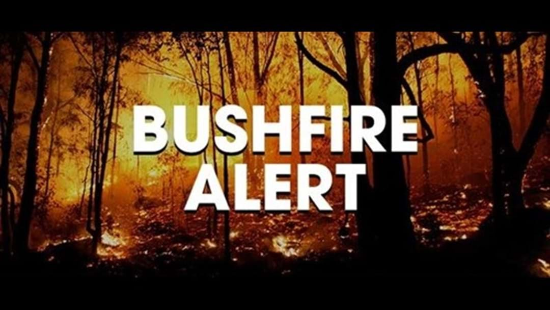 Bushfire Advice for Graphite Road, 30km west of Manjimup