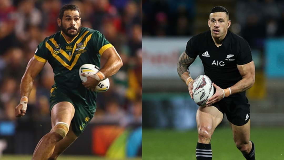The Grill Team Discuss The Potential Kangaroos v All Blacks Hybrid Game