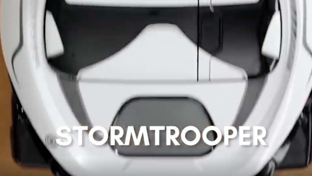 This Robotic Stormtrooper Vacuum Is The Best
