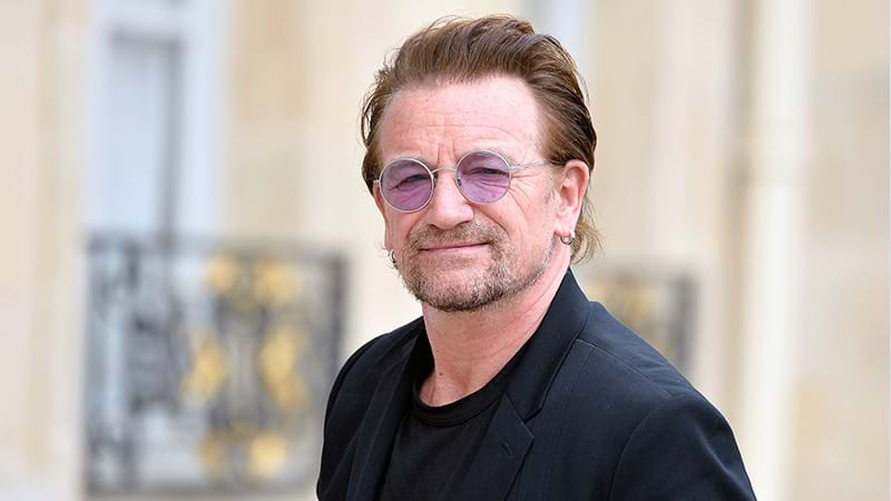 Article heading image for Bono Reckons Modern Music Has Become Too 'Girly'