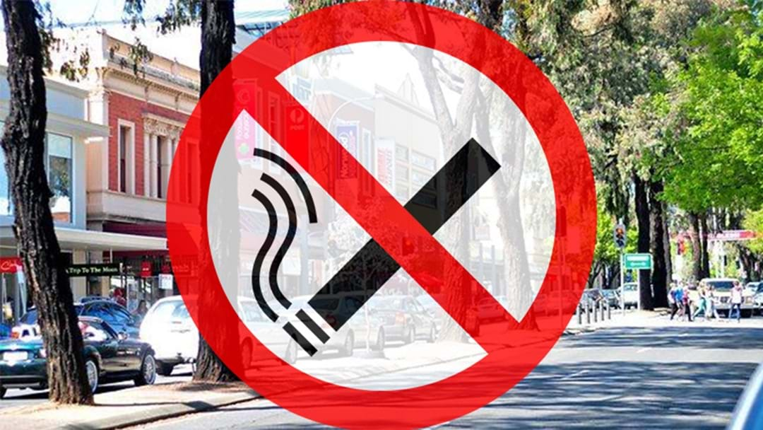 The Parade In Norwood To Become Smoke Free Zone