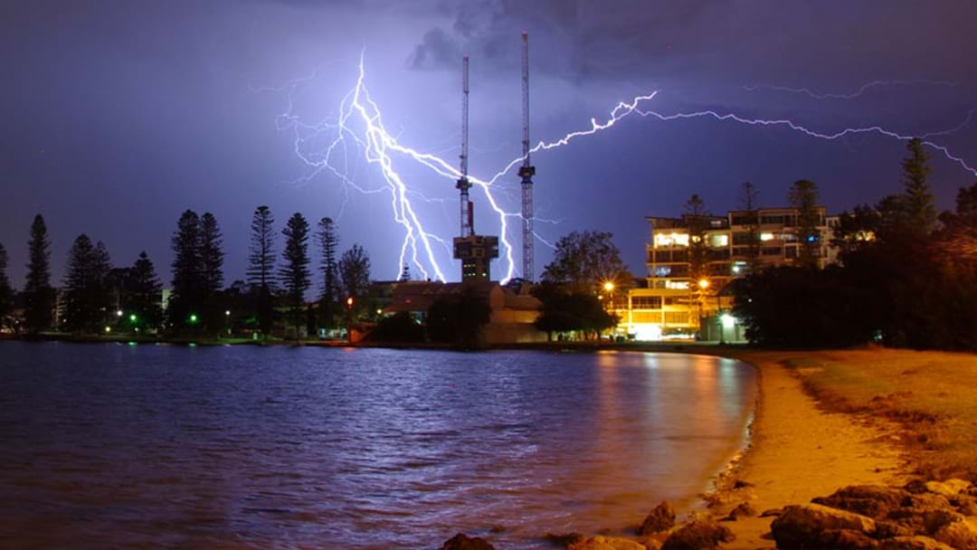 Perth Photographer Braved Last Night's Storm To Capture This Magic!