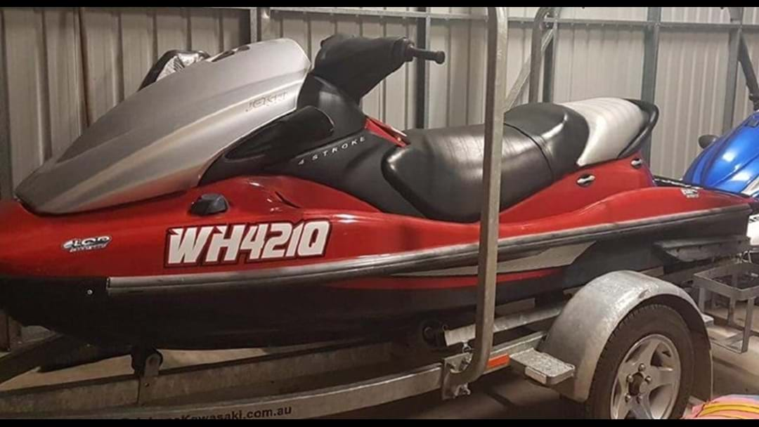 This Jetski Has Been Stolen and the Owner Would Like It Back