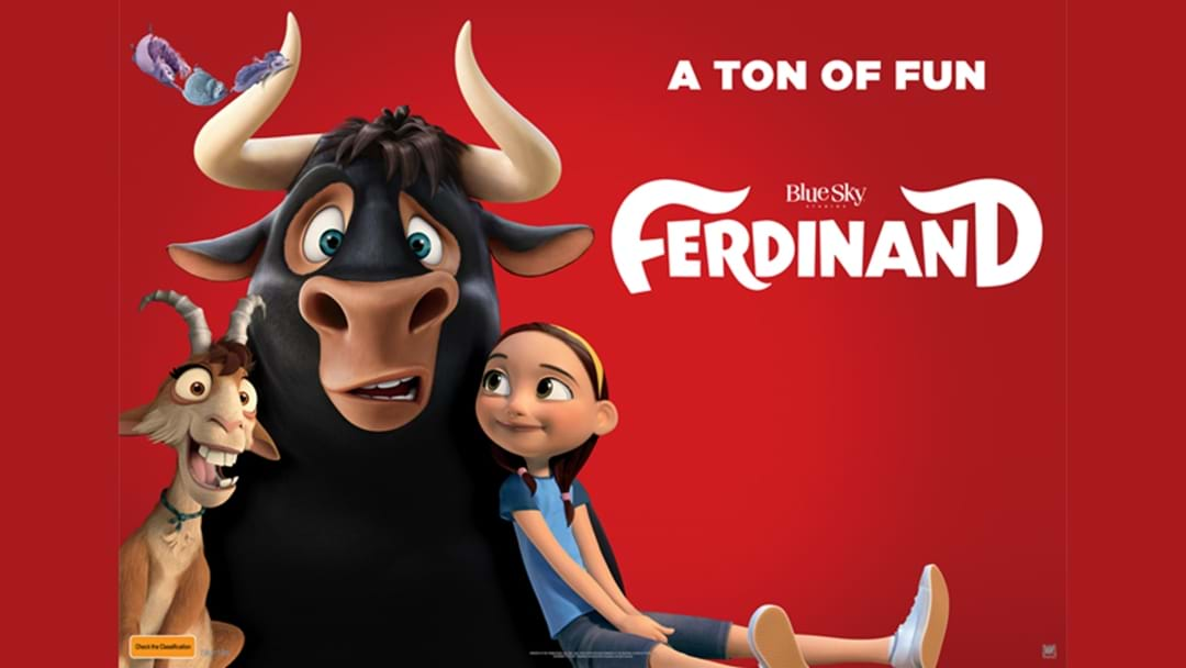 Win tickets to see Ferdinand