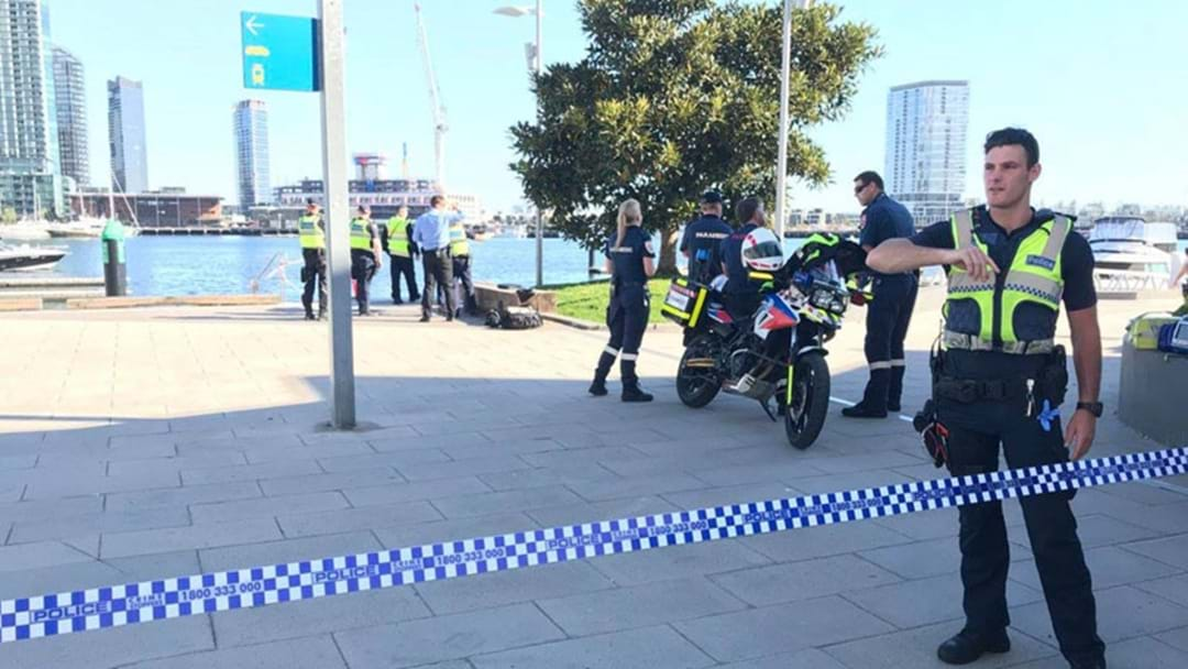 Body Found In Water At Docklands