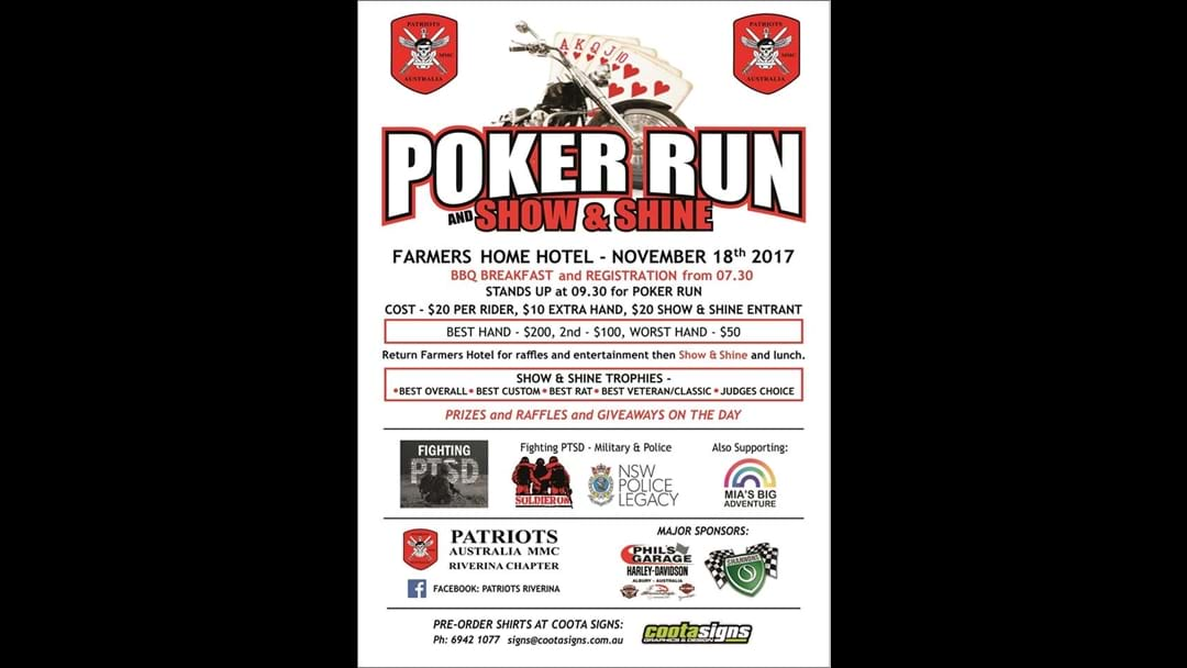 Poker Run - Show n Shine