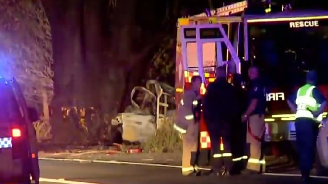 Crime Scene Established After Fatal Crash On Wakehurst Parkway Overnight