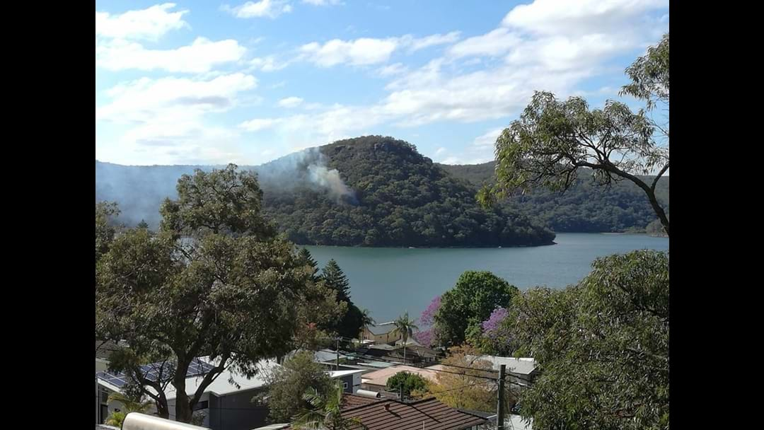 Woy Woy Bay fire contained