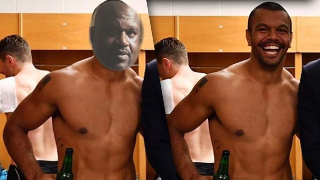 Shaq Has Hijacked Kurtley Beale's Viral Photo With Prince William