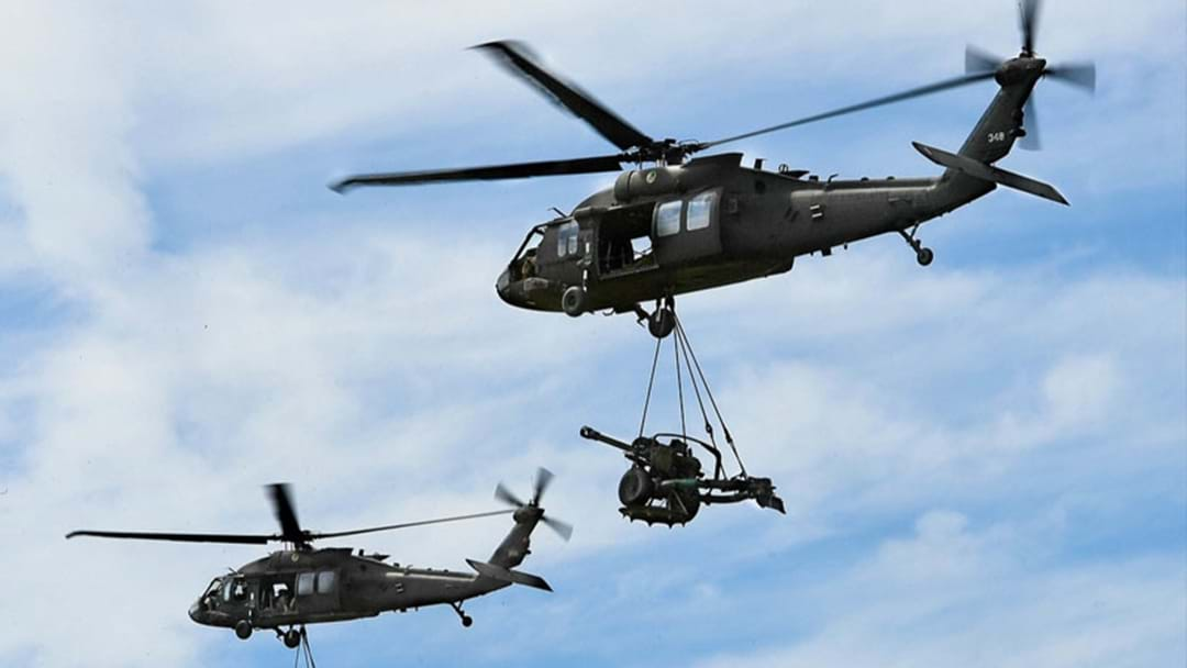 Blackhawk Helicopters To Descend Upon Sydney During November