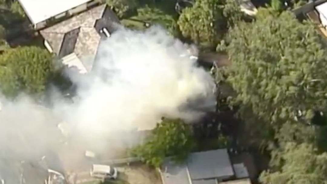 A House Has Caught Fire In Kenmore