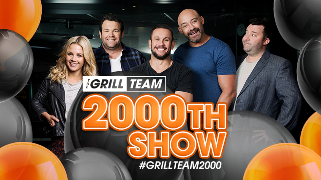 Congratulations Grill Team On 2000 Shows!