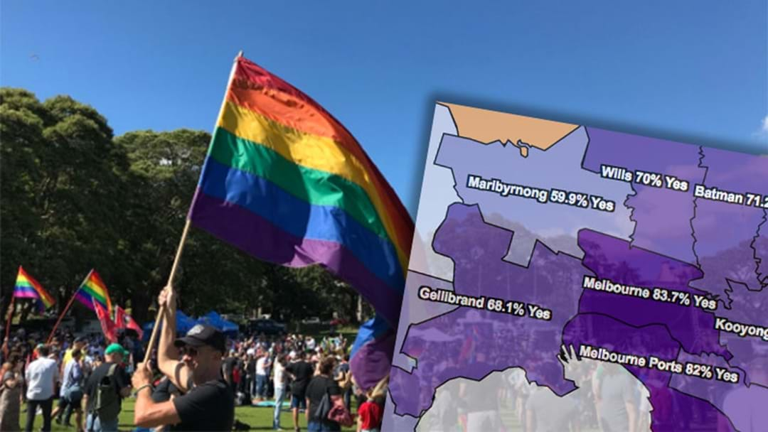How The People Of Melbourne Voted In The Same-Sex Marriage Survey
